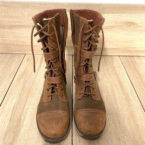 L.L Bean outdoor walking boot.